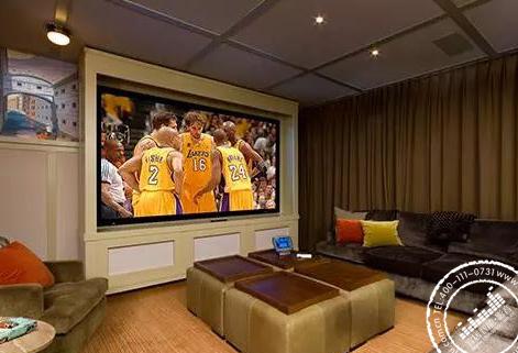 关于客厅家庭影院装修设计