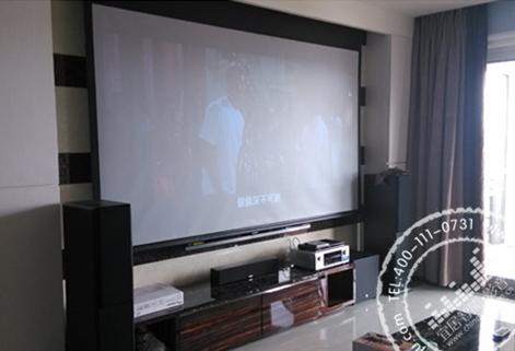 1声道客厅家庭影院系统方案