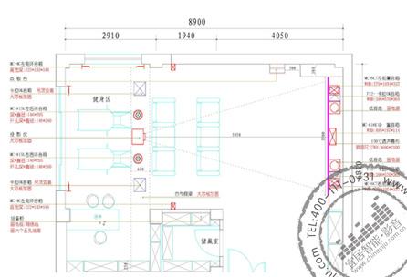 私人影院设计平面布置图