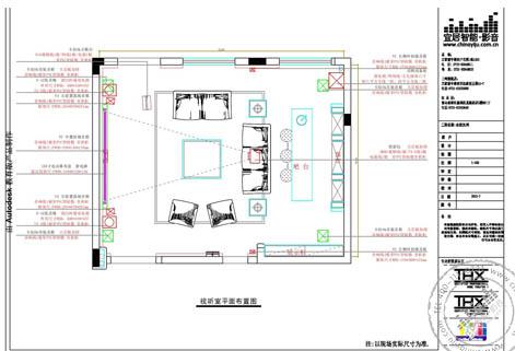 家庭影院配置平面图图片