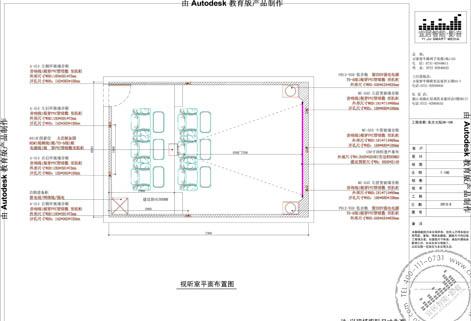 【东方大院】rbh家庭影院设计方案