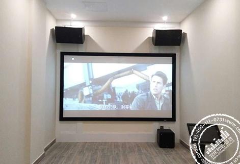 【金地三千府】长沙家庭影院装修设计方案
