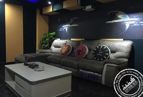 【微时代】岳阳私人影院装修设计方案 - 宜居智能影音