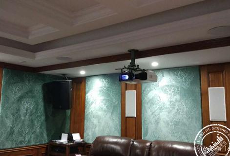 【麓山公馆】长沙别墅家庭影院装修设计方案